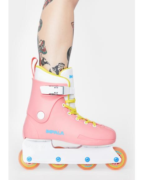 Pink Inline Skates