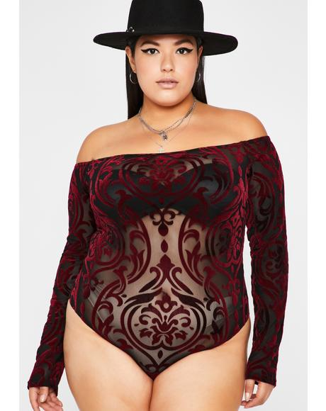 Ur Beloved Off The Shoulder Bodysuit