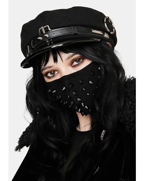 Punk Handsome Woolen Biker Hat
