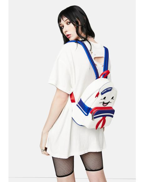 Ghostbuster Stay Puft Mini Backpack