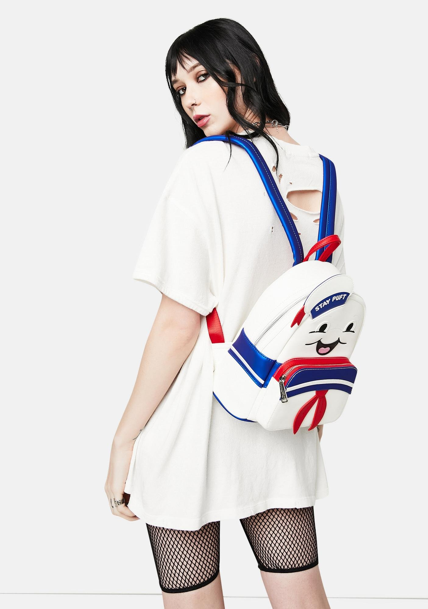 Loungefly Ghostbuster Stay Puft Mini Backpack