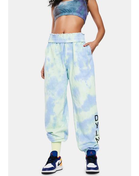 Hudson Tie Dye Track Pants