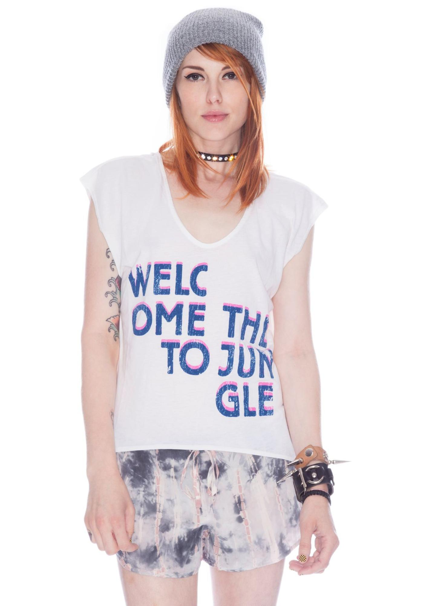 Chaser Welcome To The Jungle Muscle Tee