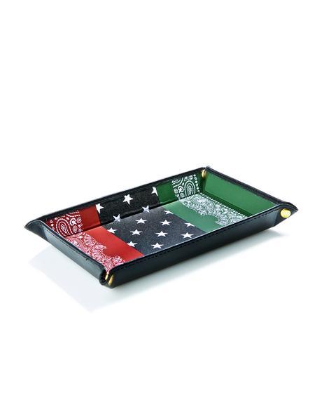 RBG Bandana Accessory Tray