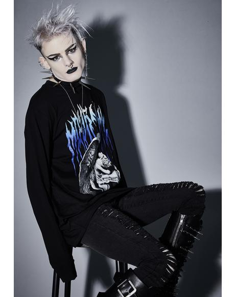 Gloomy Mournings Long Sleeve Tee