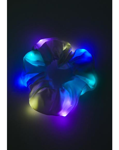 Iridescent Love Light Up Scrunchie