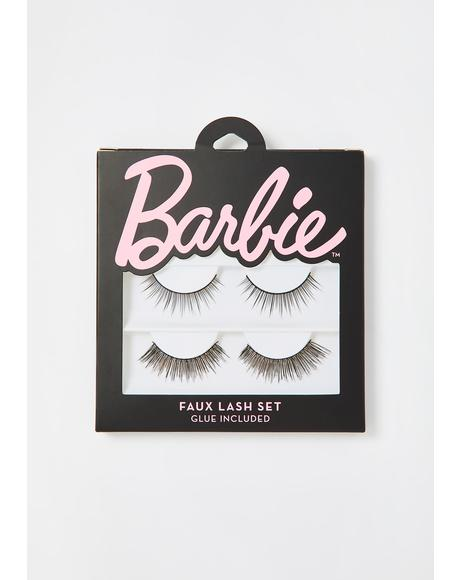 Barbie Faux Lash Set