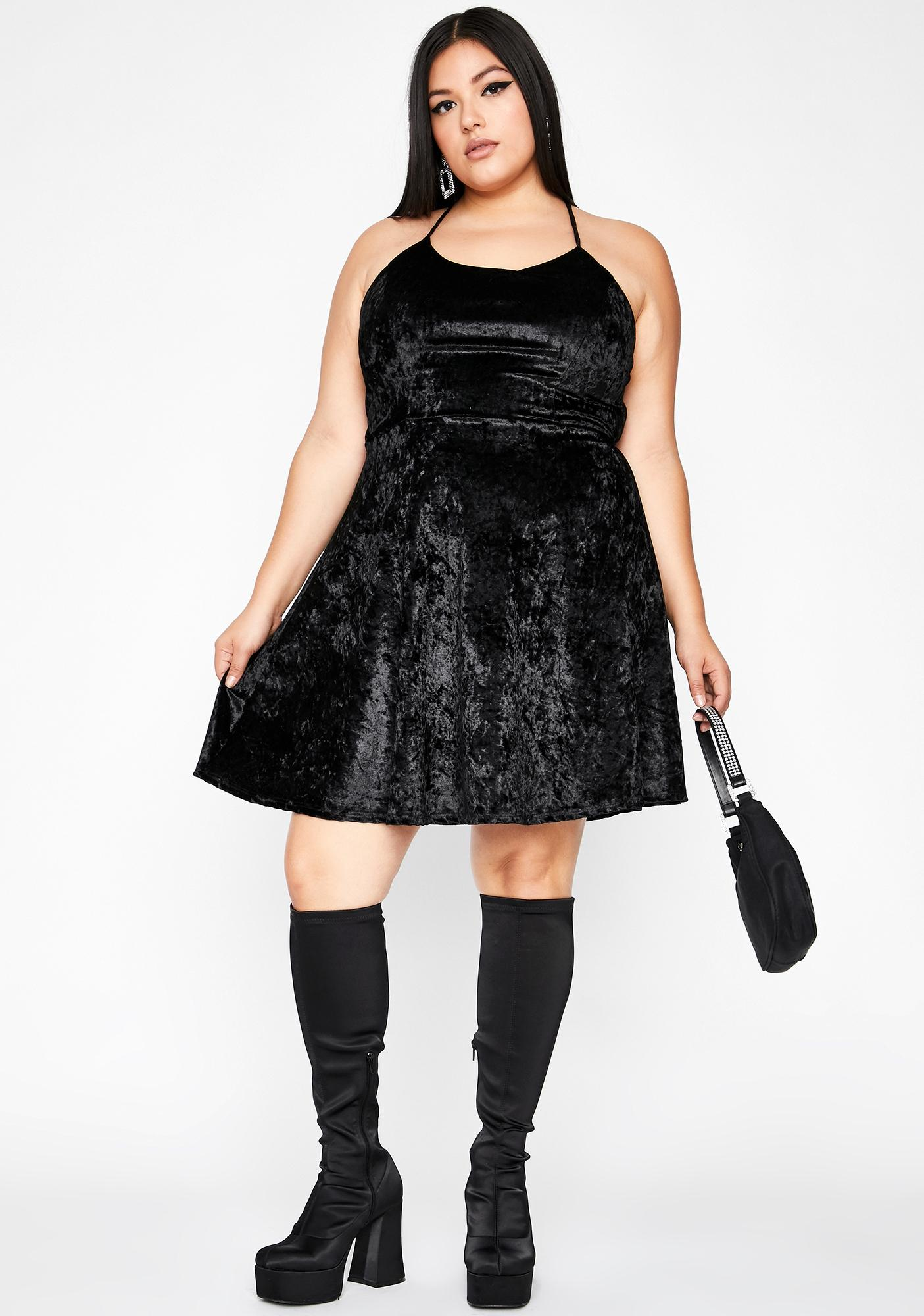 Hellbound Date Mini Dress