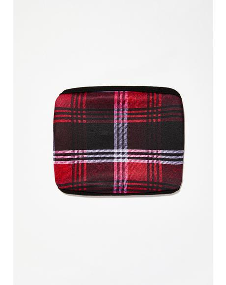 Bad Daze Plaid Mask
