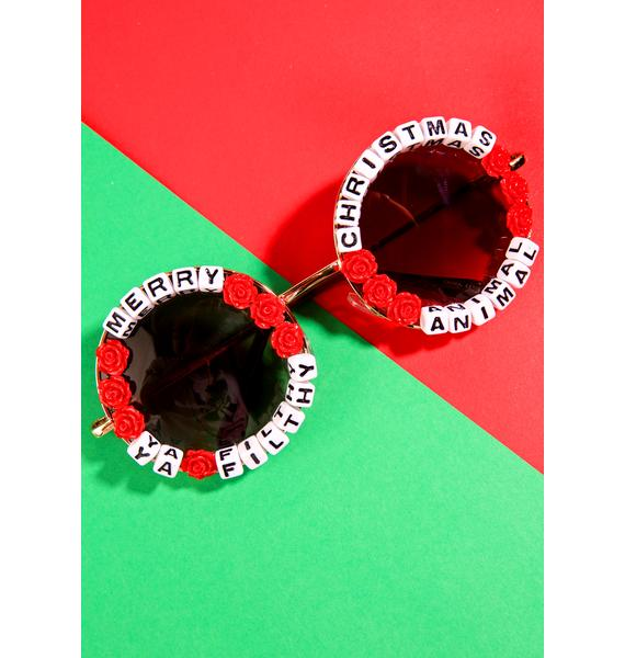 Rad and Refined Ya Filthy Animal Sunglasses