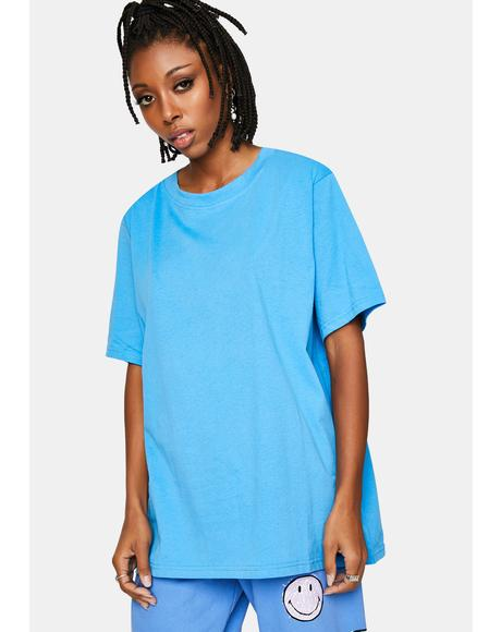 Blue Be Kind Graphic Tee