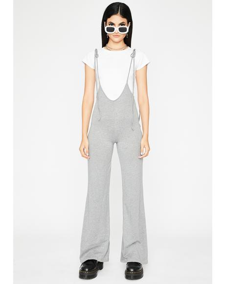 Smoke Chic Mood Plunge Jumpsuit