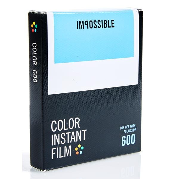 The Impossible Project 600 Color Film