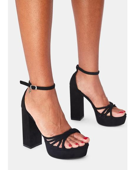 Total Optimist Platform Heels