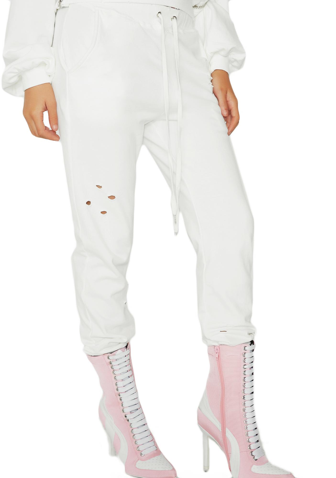 Keep Your Cool Distressed Joggers