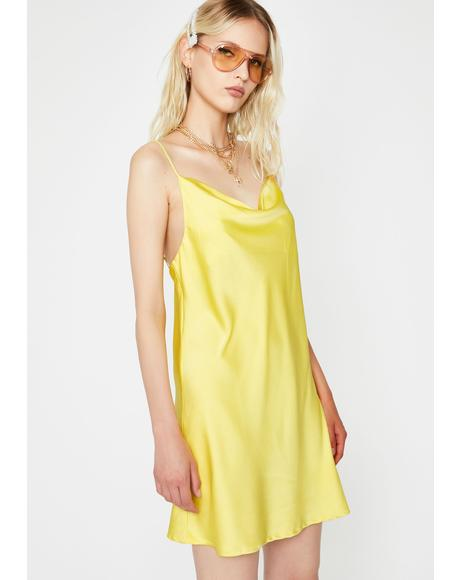Zesty Flawless Flair Slip Dress