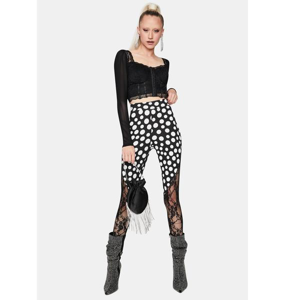 Retro Affair Polka Dot Leggings