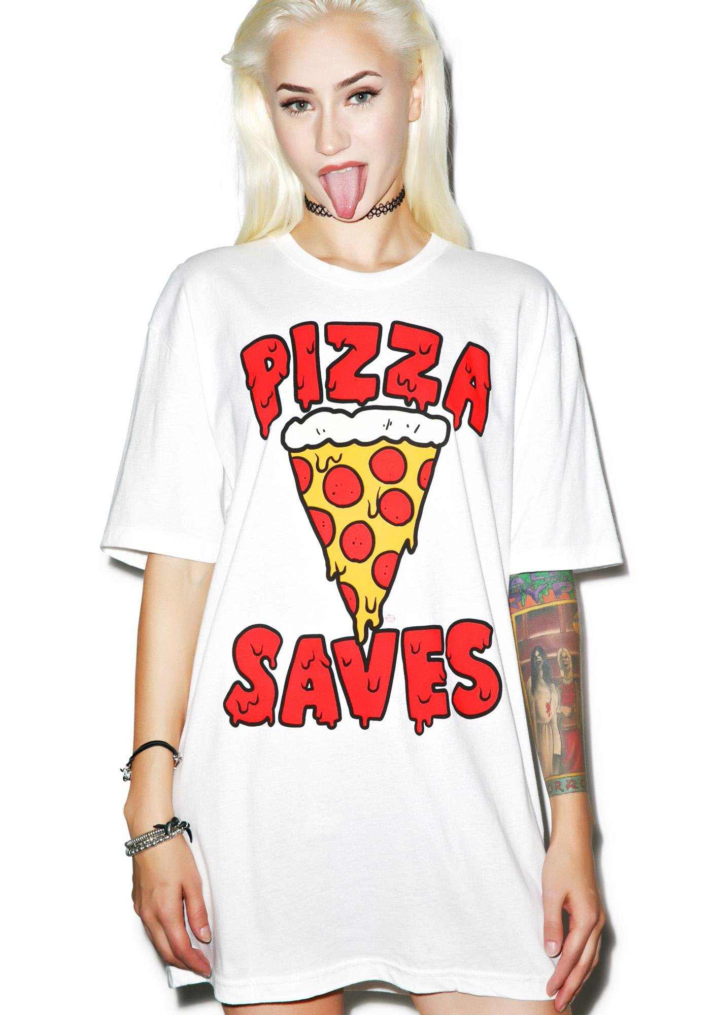 Pizza Saves Tee