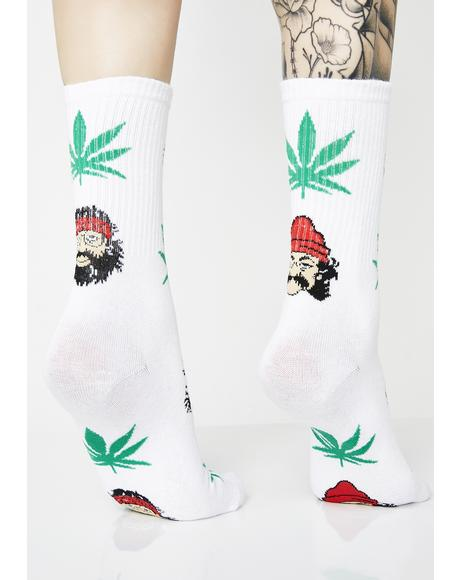 Always High Crew Socks