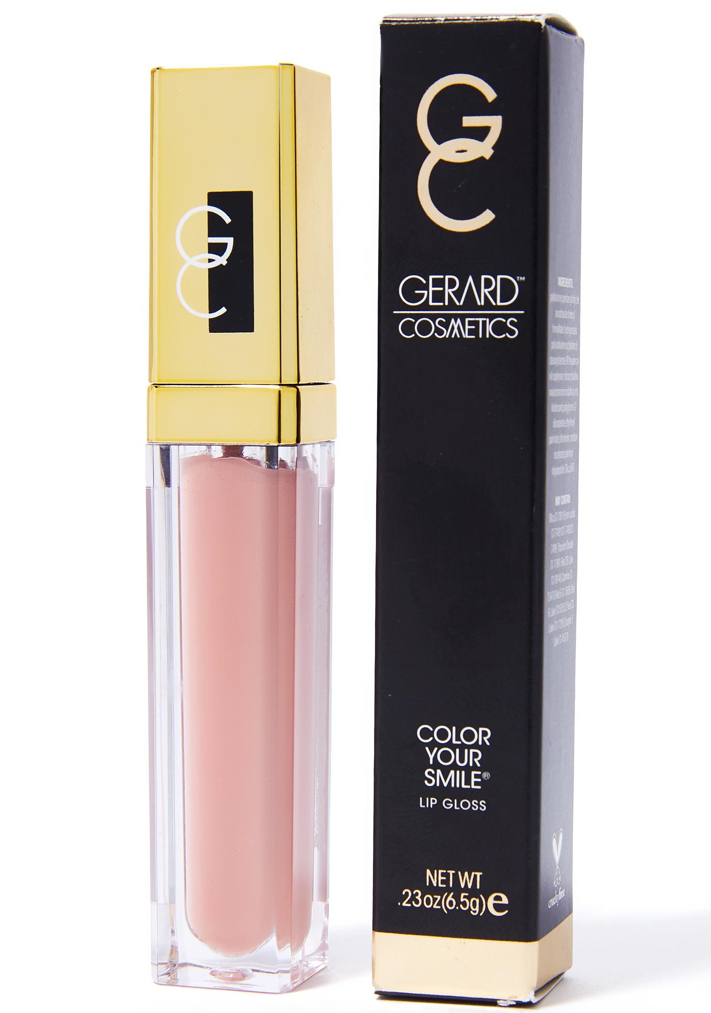 Gerard Cosmetics Buttercream Color Your Smile Lighted Lip Gloss