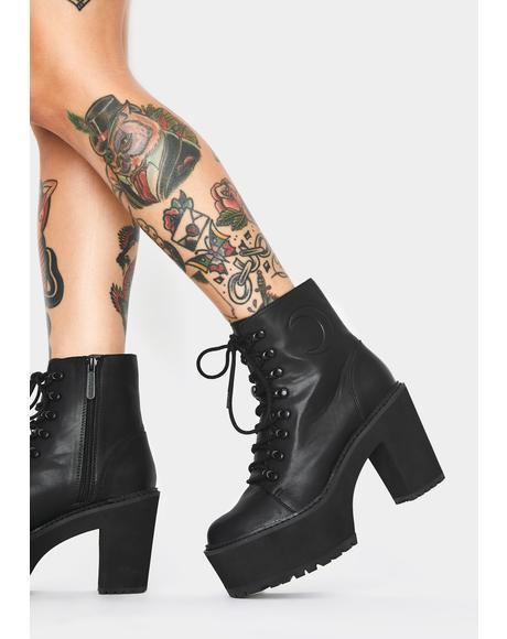 Krystal Platform Boots