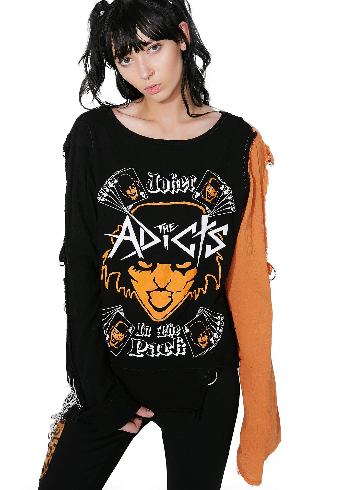 Seditionightmares The Adicts Joker Shirt