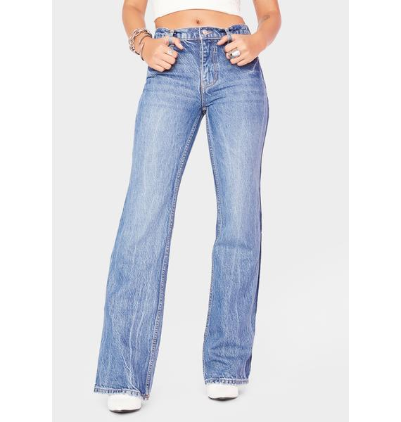 Free People Laurel Canyon Flare Jeans