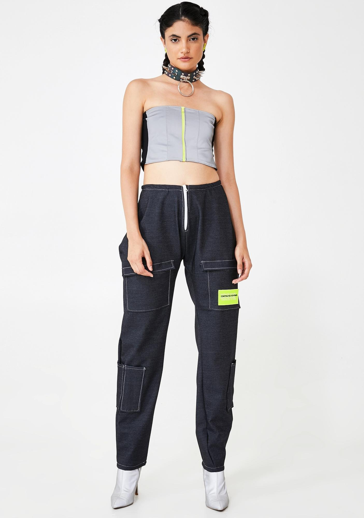 Constructed for Women Hazard 3M Reflective Top