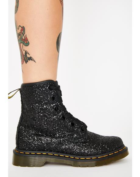 1460 Farrah Glitter Boots