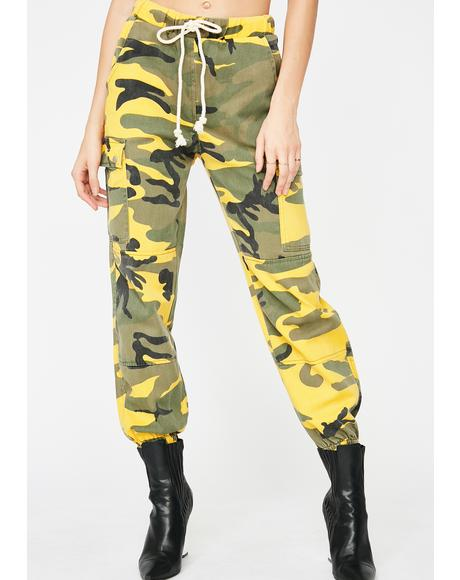 Come For Me Camo Pants