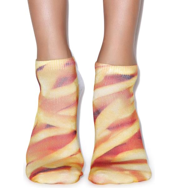 Fried Potatoes Ankle Socks