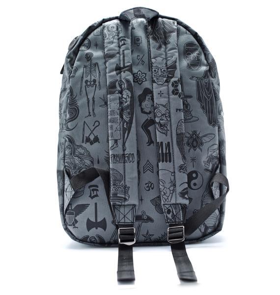 Rebel8 Giant Flash Graphics Backpack