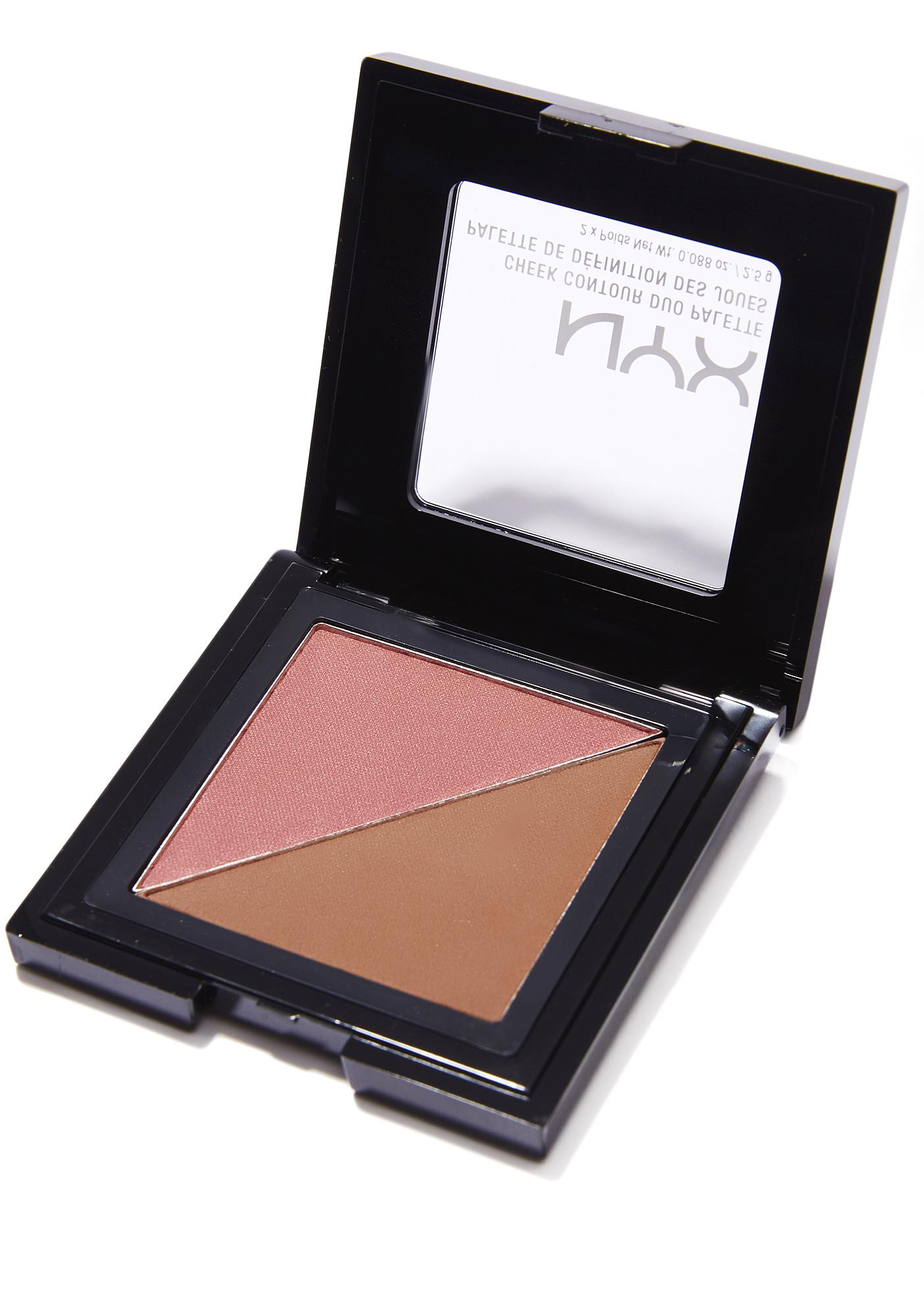 Nyx Wine Amp Dine Cheek Contour Duo Palette Dolls Kill