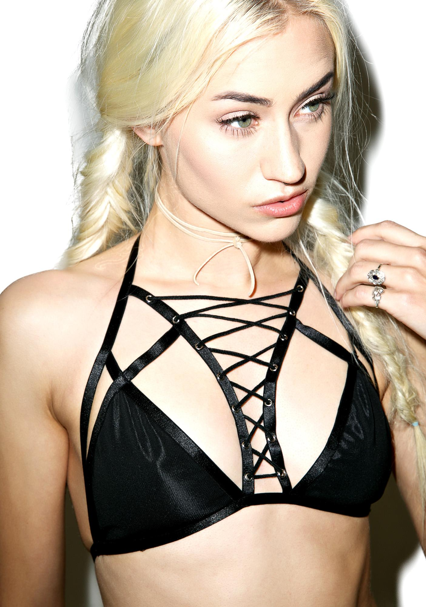 No Restrictions Strappy Bralette