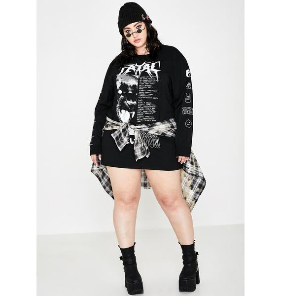 Current Mood Miss Fatal Rampage Graphic Tee