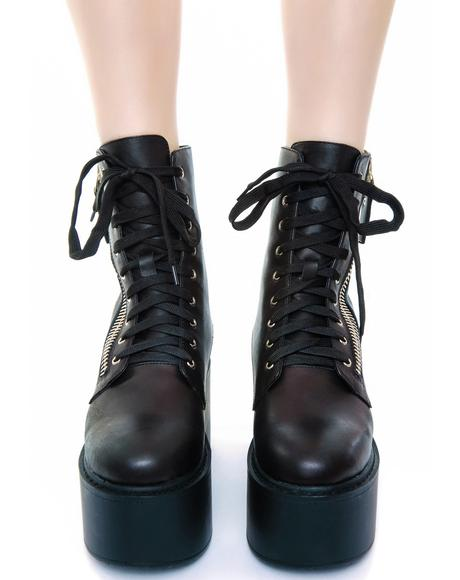 Trench High Boot