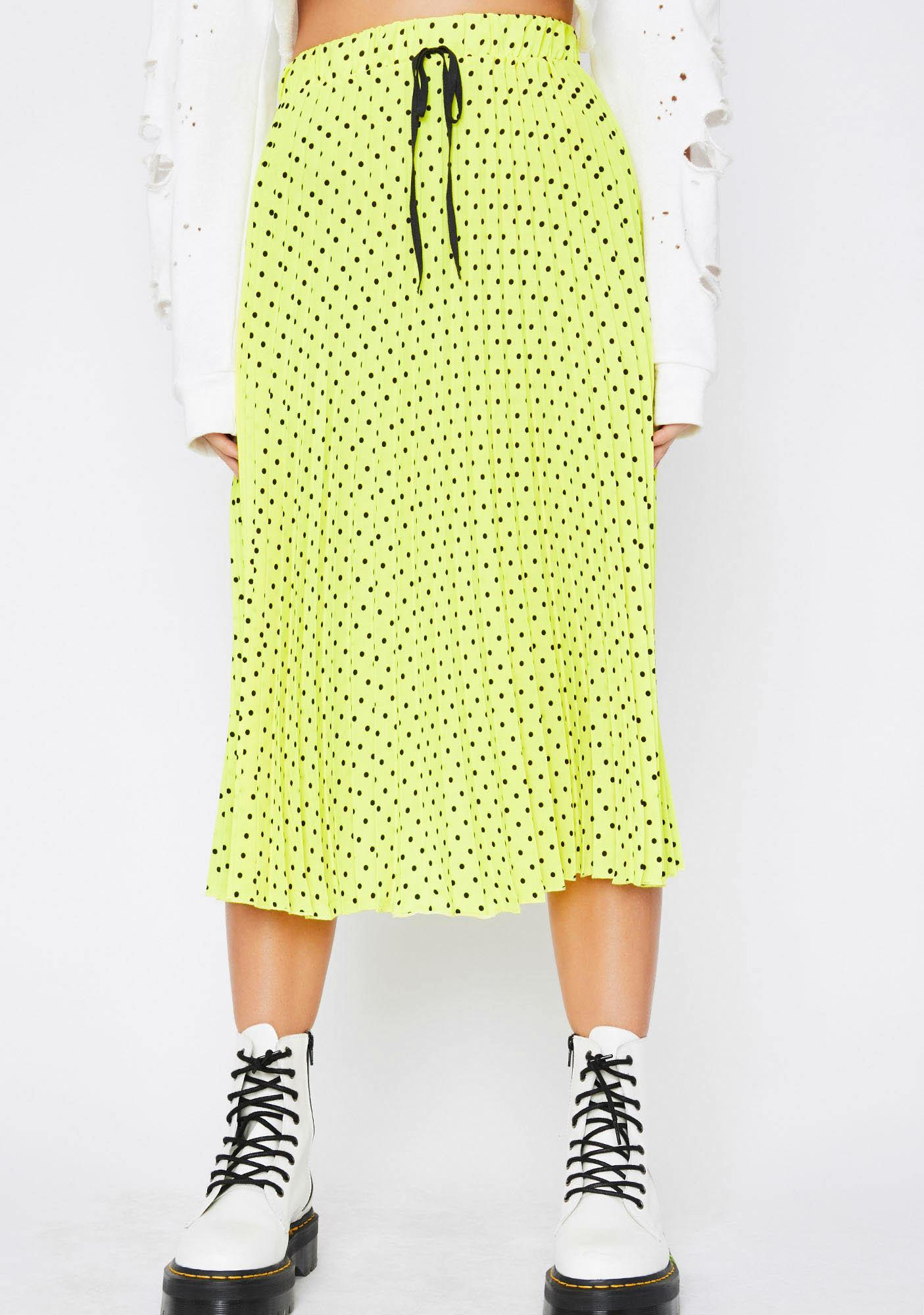 Vibin' Energy Pleated Skirt