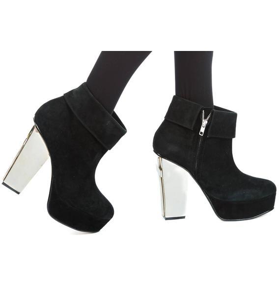 Friend Of Mine Cross Heel Boot