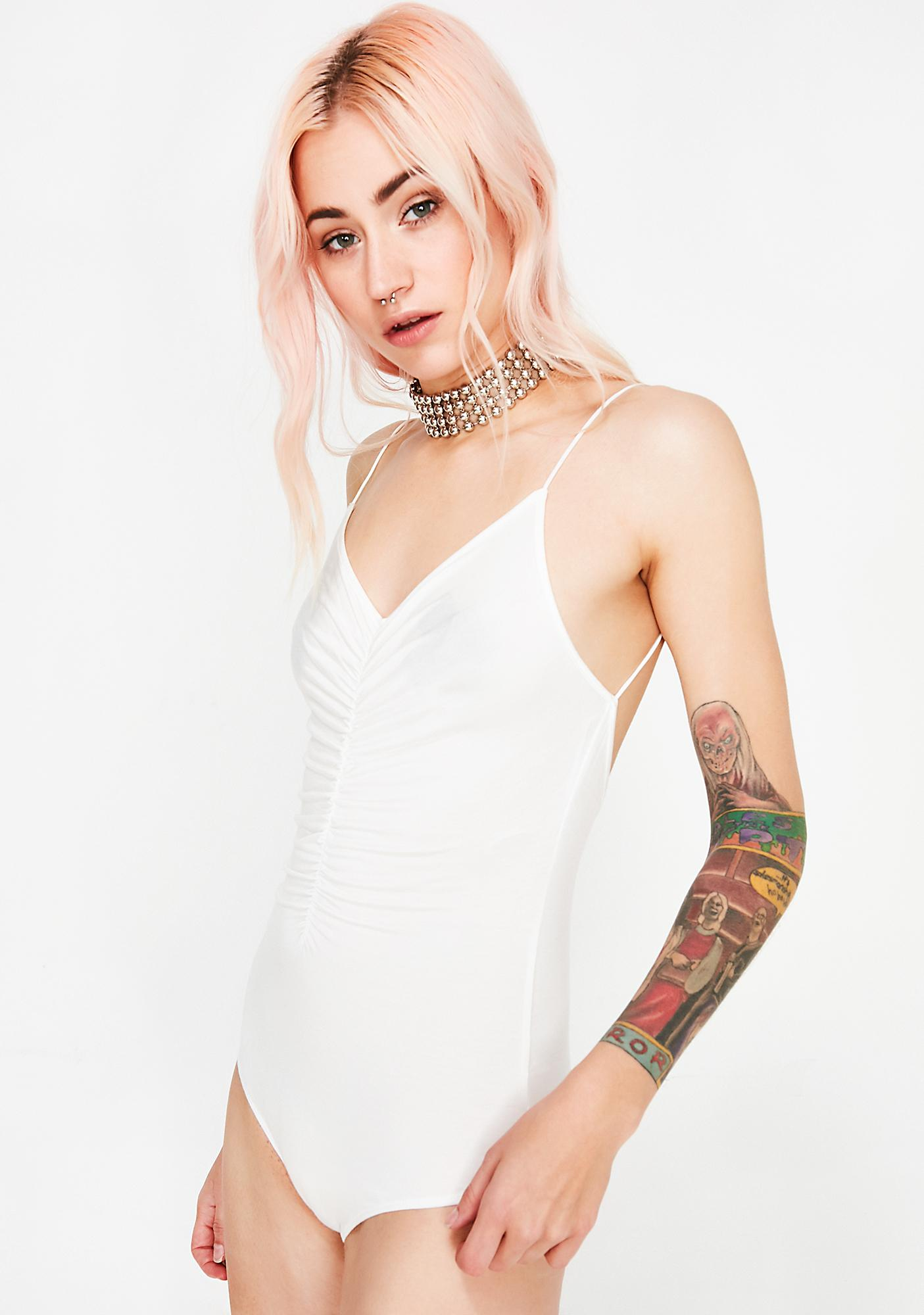 Icy Damn Daddy Cinched Bodysuit