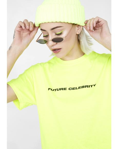 Future Celebrity Neon Tee