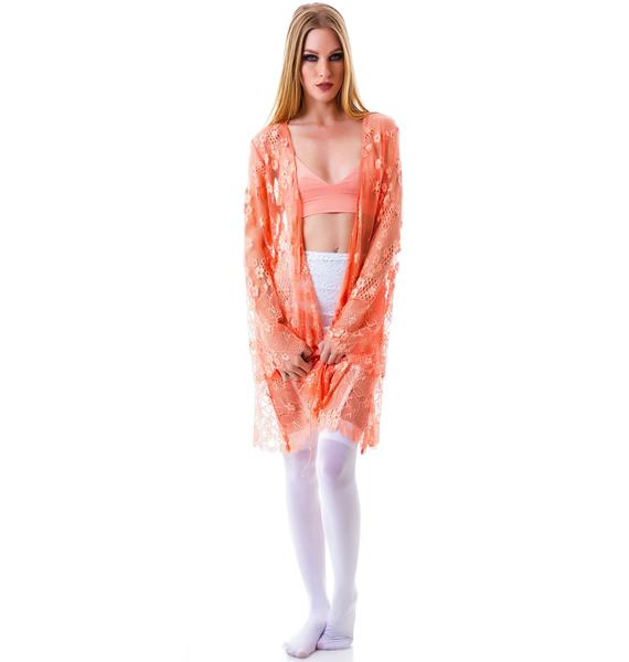 For Love & Lemons Flower Bomb Robe