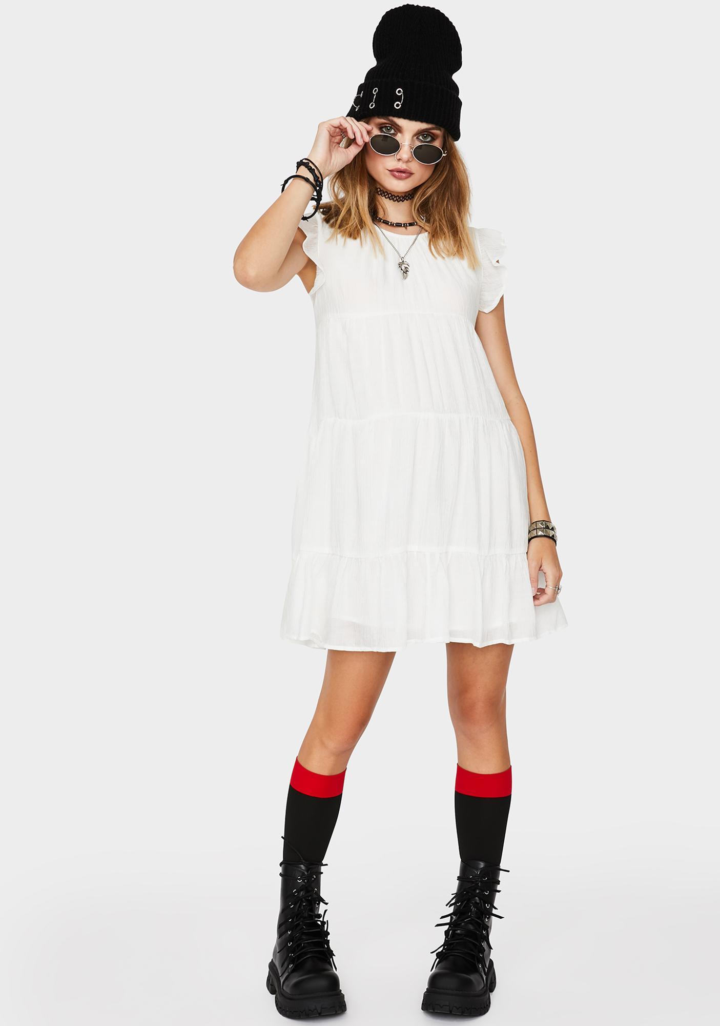 Let It Go Babydoll Dress