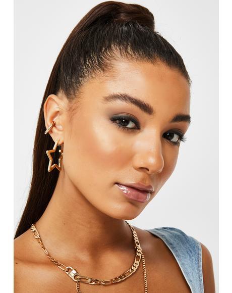 Wishin' For Me Star Earrings
