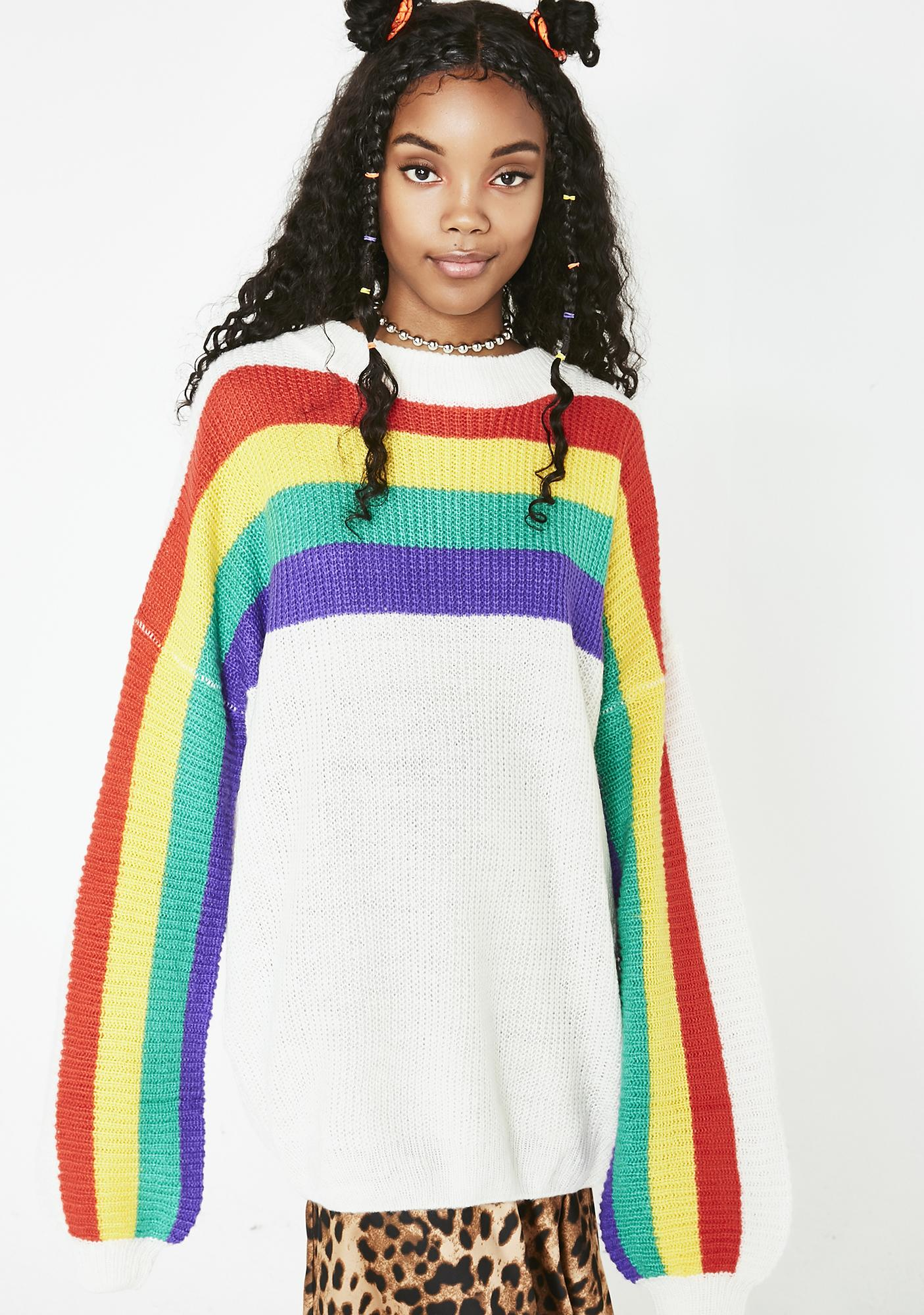 be6d452206b24 Whole Mood Rainbow Sweater