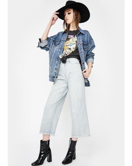 Knoll Lyla Wide Leg Jeans