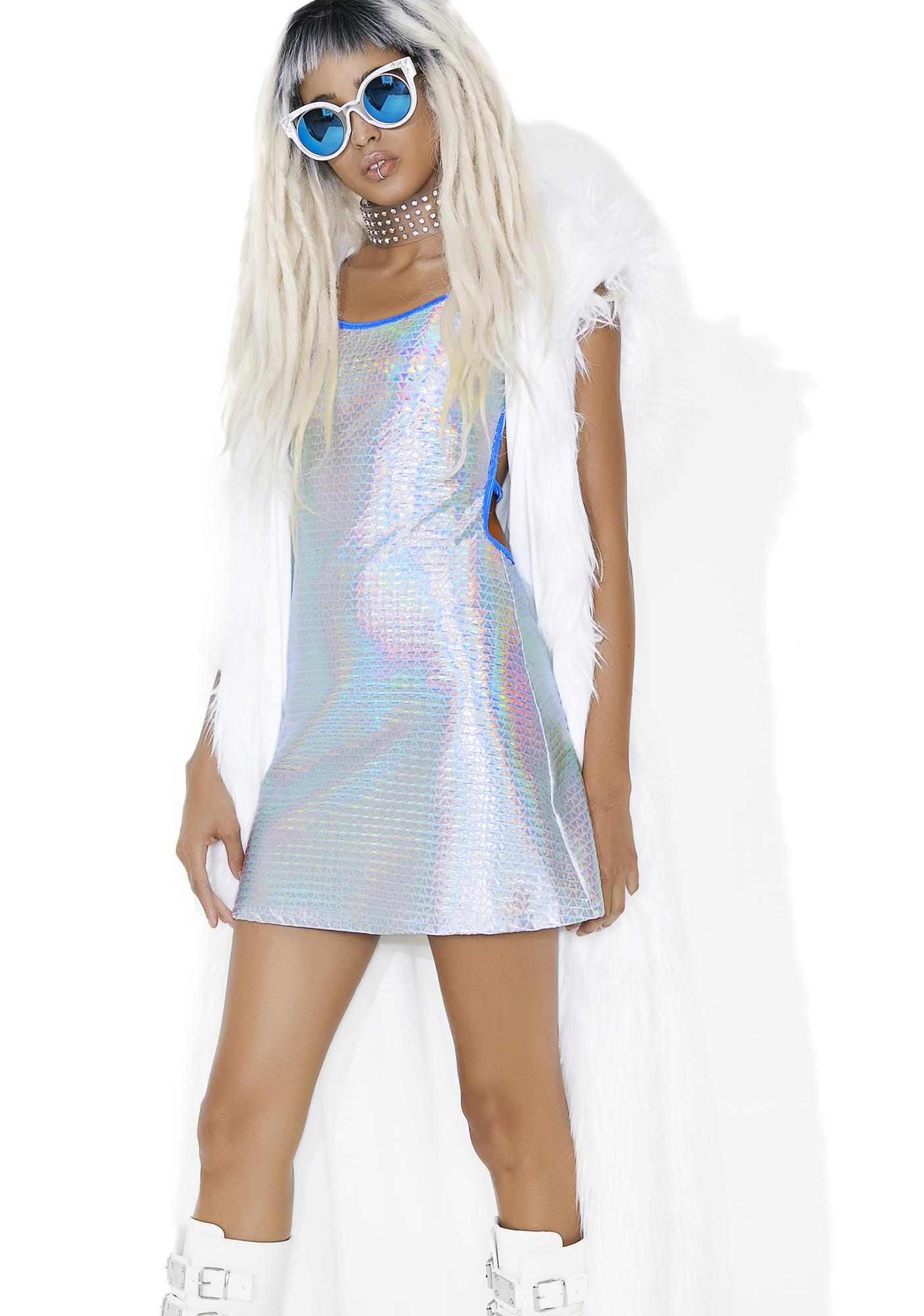 Club Exx Electrick Altar Mini Dress