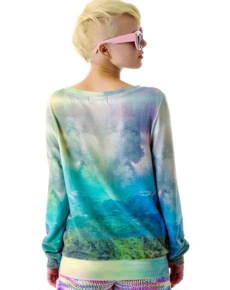 With You, Without You Baggy Beach Jumper