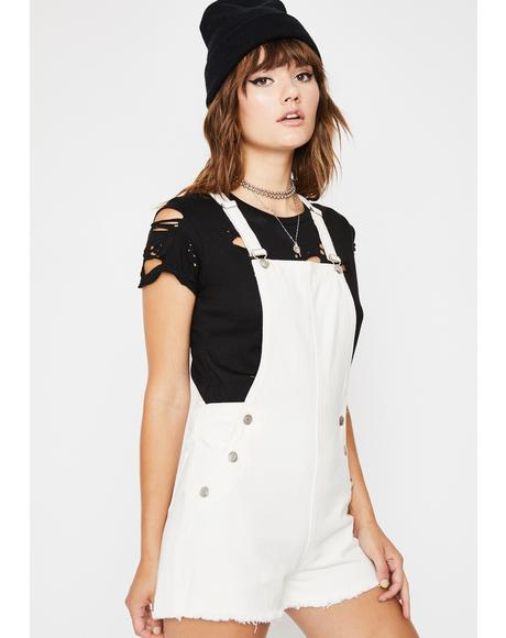 Misfit Mayhem Denim Shortalls