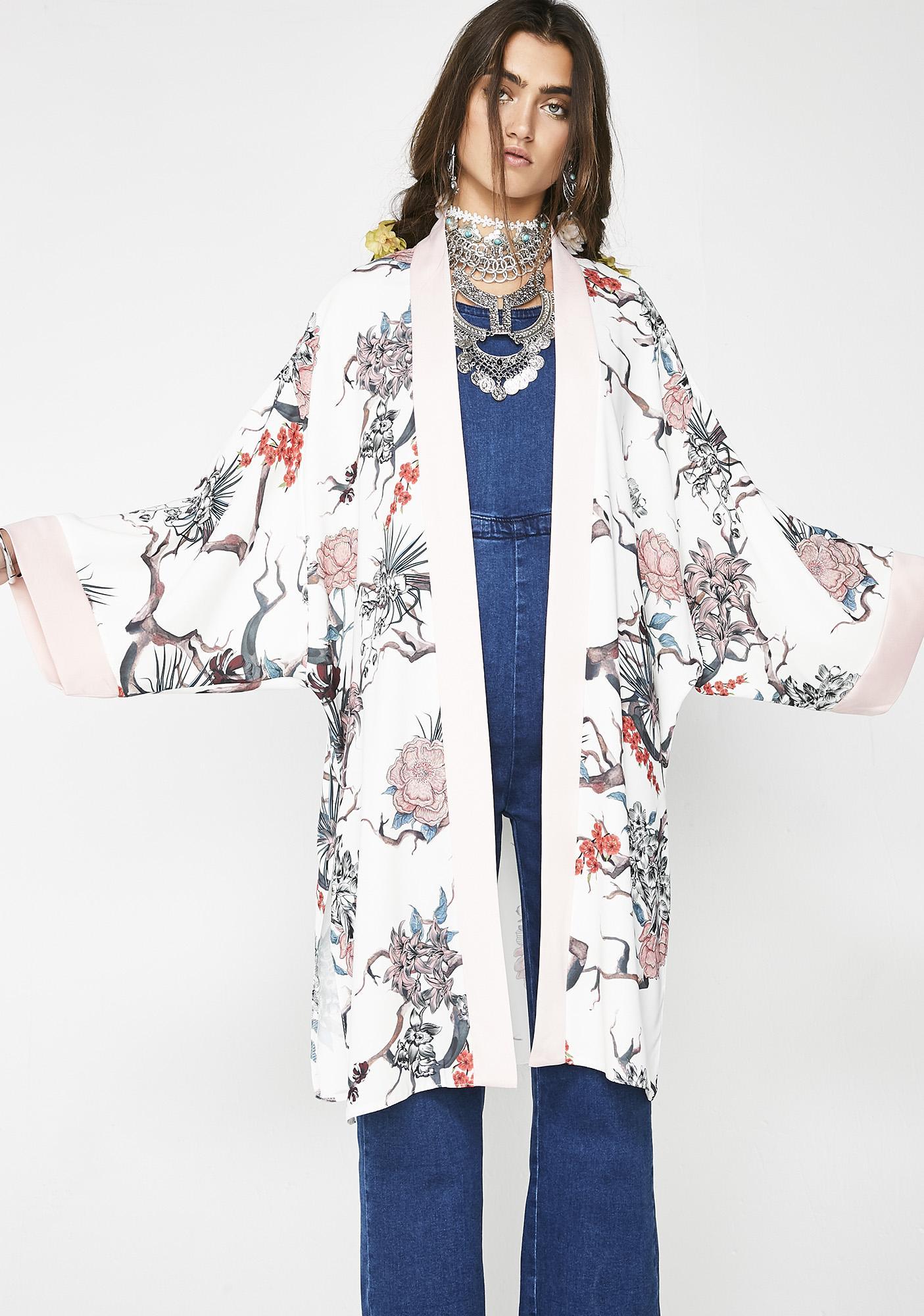 Spring Garden Kimono