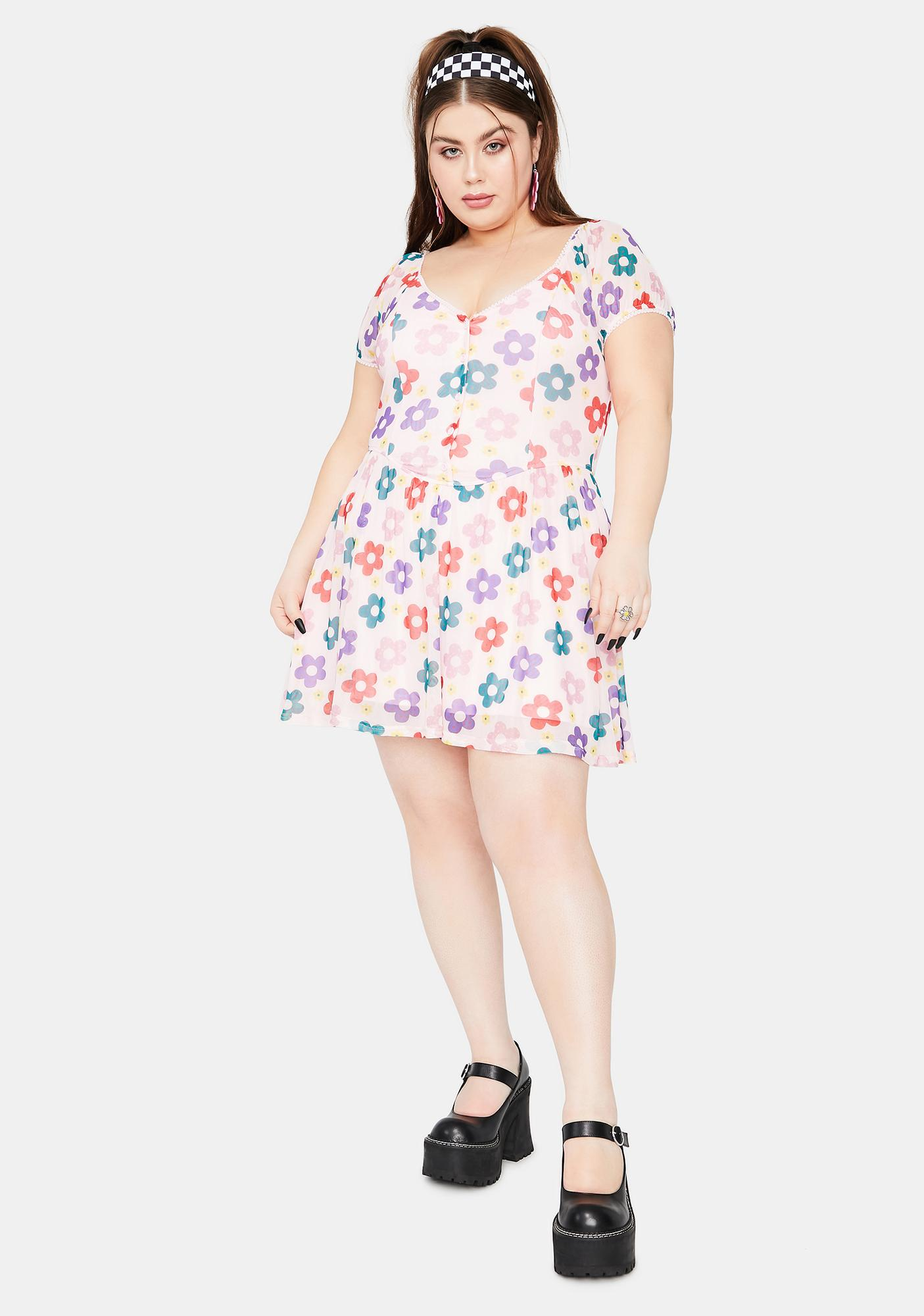 dELiA*s by Dolls Kill Forever Youthful Days Floral Dress